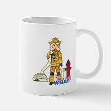 Firefighter Woman Light/Blonde Mug
