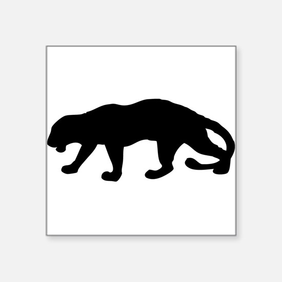 Panther Silhouette Sticker