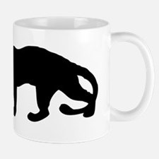 Panther Silhouette Mugs