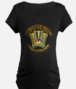DUI - 165th Infantry Bde with Text T-Shirt