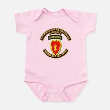 Army - 25th ID - Airborne Infant Bodysuit