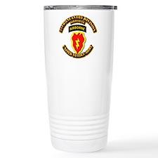 Army - 25th ID - Airborne Travel Mug