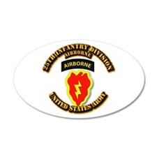 Army - 25th ID - Airborne Wall Decal