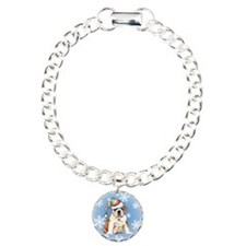 Bulldog Charm Bracelet, One Charm
