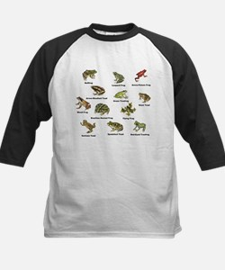 Frog and Toad Types Baseball Jersey