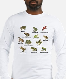 Frog and Toad Types Long Sleeve T-Shirt