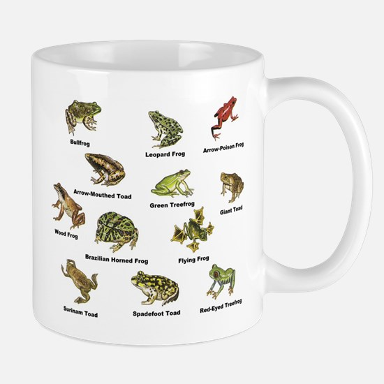 Frog and Toad Types Mugs