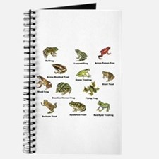 Frog and Toad Types Journal