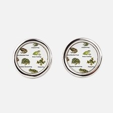 Frog and Toad Types Cufflinks