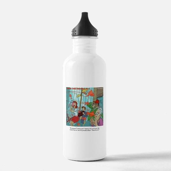 Carpnado Scary Goldfish Film Water Bottle