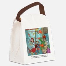 Carpnado Scary Goldfish Film Canvas Lunch Bag
