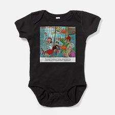 Carpnado Scary Goldfish Film Baby Bodysuit