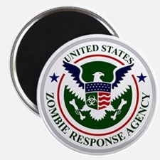 US Zombie Response Agency Magnet