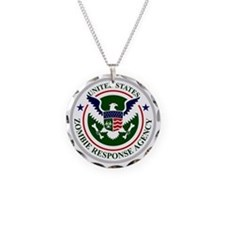 US Zombie Response Agency Necklace