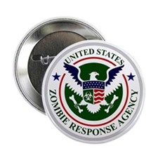"""US Zombie Response Agency 2.25"""" Button"""