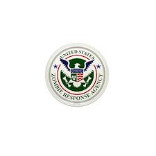 US Zombie Response Agency Mini Button