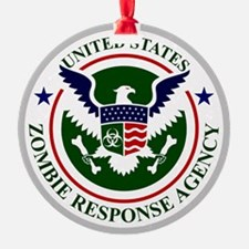 US Zombie Response Agency Ornament