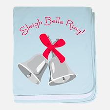 Sleigh Bells Ring! baby blanket