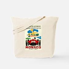 Vintage 1957 Monaco Grand Prix Race Poster Tote Ba
