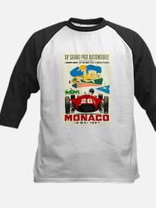 Vintage 1957 Monaco Grand Prix Race Poster Basebal