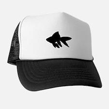 Goldfish Silhouette Trucker Hat