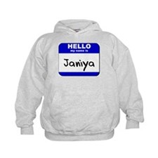 hello my name is janiya Hoodie