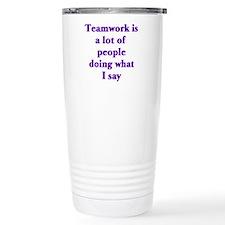 Funny Job related Travel Mug