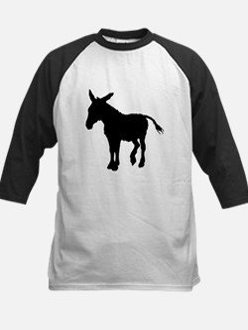 Donkey Silhouette Baseball Jersey