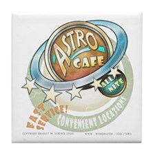 """Astro Cafe"" Tile Coaster"