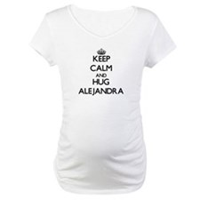 Keep Calm and HUG Alejandra Shirt