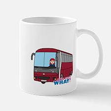 Bus Driver Light/Red Mug
