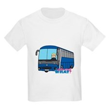 Bus Driver Light/Blonde T-Shirt