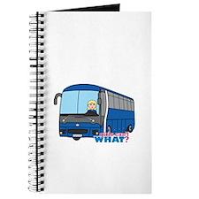 Bus Driver Light/Blonde Journal