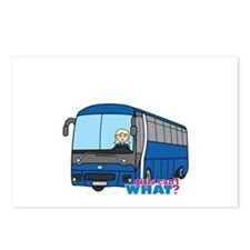 Bus Driver Light/Blonde Postcards (Package of 8)