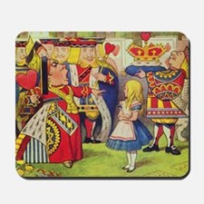The Queen of Hearts with Alice Mousepad