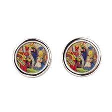 The Queen of Hearts with Alice Cufflinks
