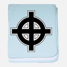 Celtic Cross Square baby blanket