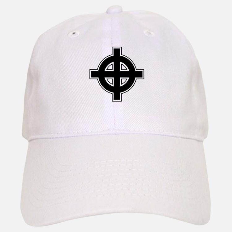 Celtic Cross Square Baseball Baseball Cap