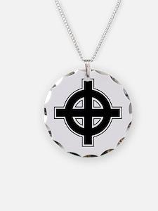 Celtic Cross Square Necklace