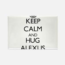 Keep Calm and HUG Alexus Magnets