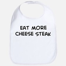 Eat more Cheese Steak Bib