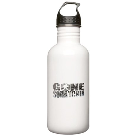 Gone Squatchin *Winter Edition* Water Bottle