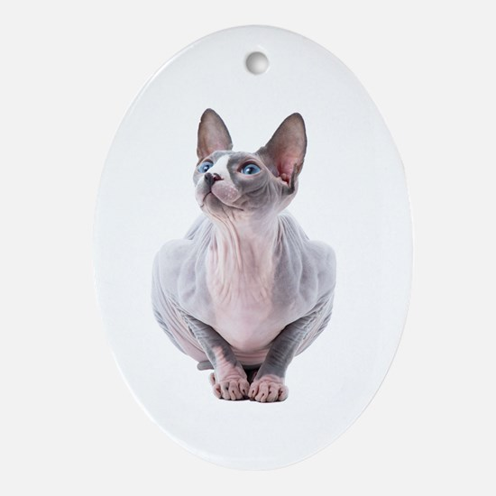 Sphynx Mania Ornament (Oval)