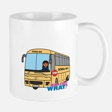 School Bus Driver Dark Mug
