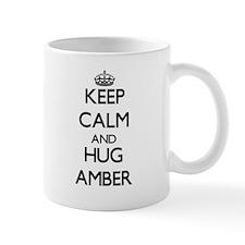 Keep Calm and HUG Amber Mugs