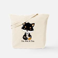 Black Shiba Inu I'm Not A Fox