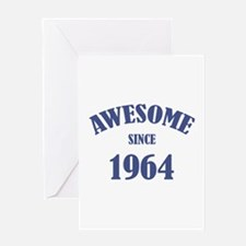 Awesome Since 1964 Greeting Card