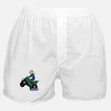 ATV Woman Blonde Boxer Shorts