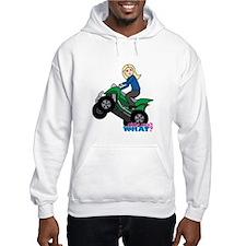 ATV Woman Blonde Hoodie