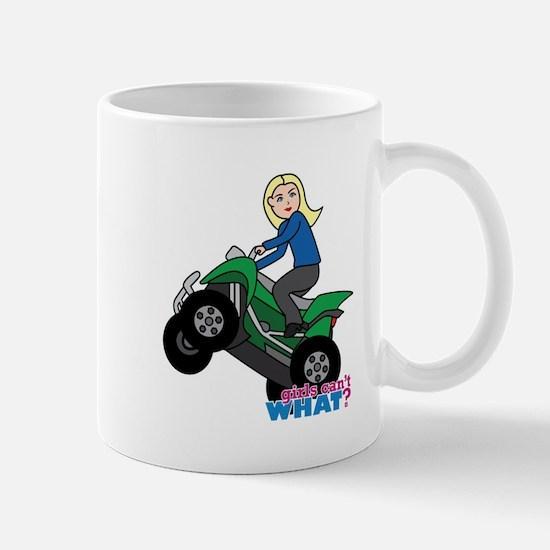 ATV Woman Blonde Mug
